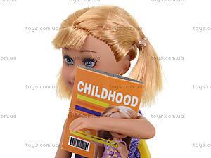 Детская кукла Defa Sairy «Школьница», 8298, игрушки