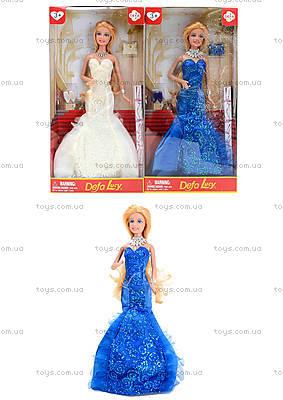 Игрушечная кукла Defa в вечернем платье, 8270