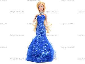 Игрушечная кукла Defa в вечернем платье, 8270, игрушки