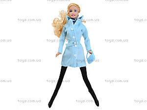 Детская кукла Defa в зимней одежде, 8293, фото
