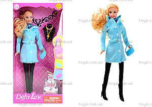 Детская кукла Defa в зимней одежде, 8293