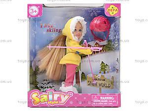 Детская кукла Defa Sairy «Зимний отдых», 8310, цена
