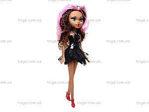 Кукла детская Monster Girl, 1233A/B/C, игрушки