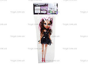 Кукла детская Monster Girl, 1233A/B/C, toys