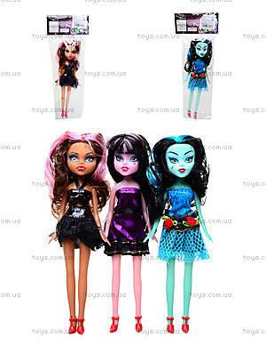 Кукла детская Monster Girl, 1233A/B/C