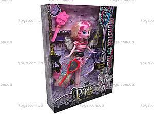 Кукла детская Monster High с аксессуарами, 112-2, купить