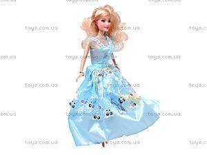 Кукла детская, с набором платьев, 8026, купить