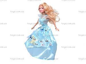 Кукла детская, с набором платьев, 8026, отзывы