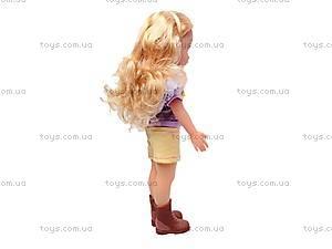 Кукла детская с расческой, 87001, купить