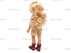 Кукла детская с расческой, 87001, цена
