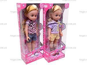 Кукла детская с расческой, 87001