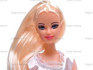 Кукла детская в бальном платье, 66387, отзывы