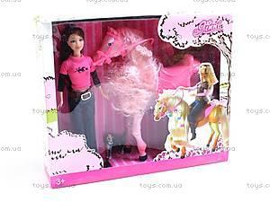 Кукла «Джинни», с лошадкой, 83112
