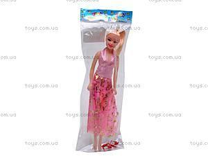 Кукла для девочек, 4 вида, 8838, купить