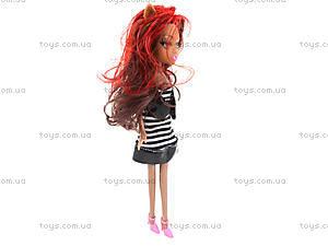 Кукла для девочек Monster Girl, E-535C, отзывы