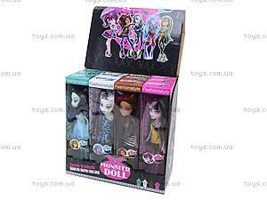 Кукла для девочек Monster Girl, E-535C, детские игрушки