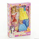 Кукла для девочек с нарядами в коробке, 20106B-2, купить