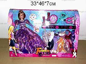 Кукла для девочек, с одеждой, JX900-33