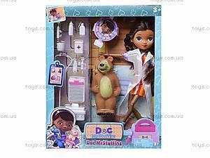 Кукла «Доктор Плюшева» с докторским набором , 8900-4, купить