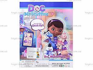 Кукла «Доктор Плюшева» с докторским набором , 8900-4, фото