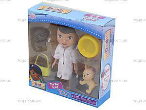 Кукла «Доктор Плюшева» с питомцами, SY06A, фото