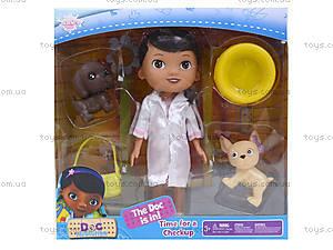 Кукла «Доктор Плюшева» с питомцами, SY06A, отзывы