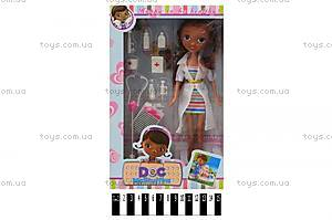 Кукла «Доктор Плюшева» в халате, с аксессуарами, G24