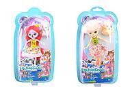 Кукла «Enchantimals» с питомцем, 6 видов, PT1305, toys