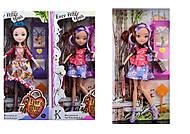 Кукла «Эвер Афте Хай» шарнирная 12 видов, 2070, фото