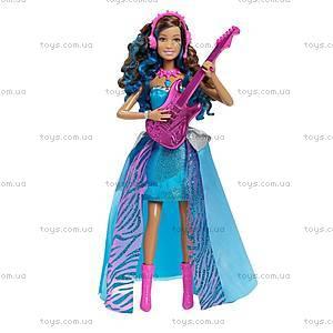 Детская кукла Эрика из м/ф «Барби: Рок-принцесса», CMT20