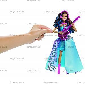 Детская кукла Эрика из м/ф «Барби: Рок-принцесса», CMT20, фото