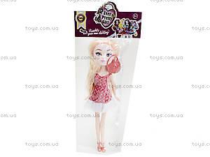 Детская кукла типа «Афтер Хай», BL368-1, отзывы