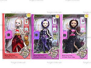 Детская кукла Fairytale Girl, YF1010, магазин игрушек