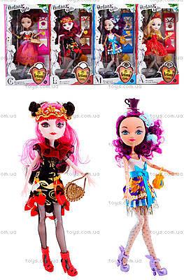 Детская кукла типа Ever After High с аксессуарами, D221B