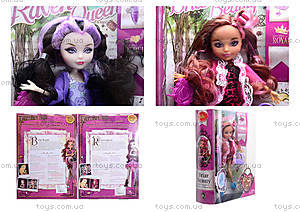 Детская кукла типа Ever After High для девочек, 5007AB, цена