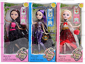 Кукла типа Ever After High для девочек, YF1010S, отзывы