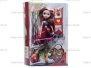 Кукла типа Ever After High с аксессуарами, E800A, детские игрушки