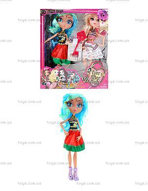 Кукла типа Ever After High с аксессуарами для детей, G-12B
