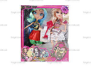 Кукла типа Ever After High с аксессуарами для детей, G-12B, отзывы