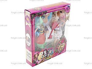 Кукла типа Ever After High с аксессуарами для детей, G-12B, магазин игрушек