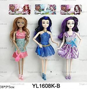 Кукла EVER AFTER HIGH с аксессуарами, разные, YL1608K-B