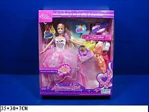 Кукла Fajiabao, с гардеробом, 89112