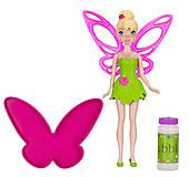 Кукла фея Динь-Динь серии «Мыльные пузыри», с раствором, 51355, отзывы