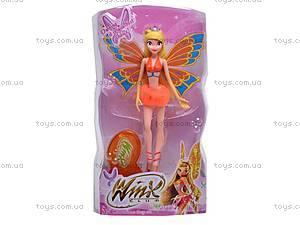 Кукла-фея, с крыльями, 818, отзывы