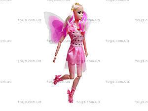 Кукла-фея со светящимися крыльями, MJN666, фото