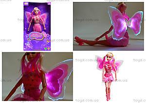 Кукла-фея со светящимися крыльями, MJN666