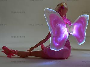 Кукла-фея со светящимися крыльями, MJN666, детские игрушки