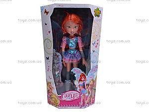 Кукла фея с крылышками, 825, игрушки