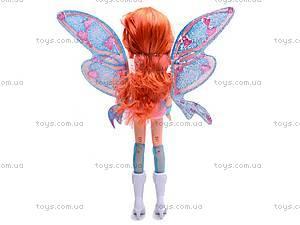 Кукла фея с крылышками, 825, детские игрушки