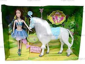 Кукла «Фея» с лошадью, NM588908-7, купить